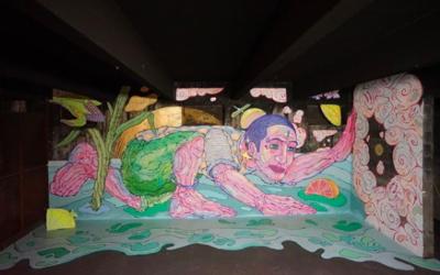 «Nous avons tous besoin de vivre l'idéal» à Peinture Fraîche de Yandy Graffer