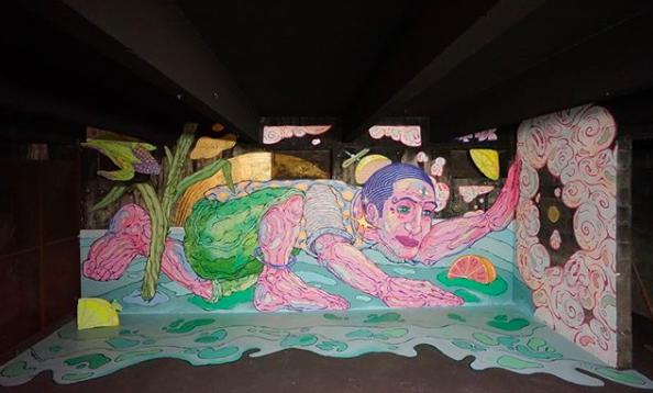 Peinture Fraiche Yandy Graffer