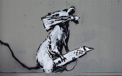 Banksy, Invader, Jef Aérosol… Peut-on voler une oeuvre street-art ?