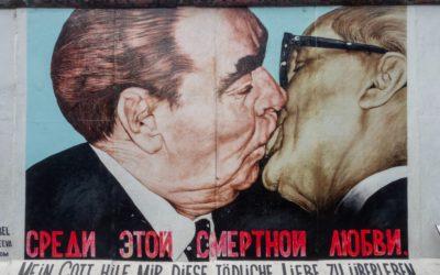 Le mur de Berlin, premier exemple de «border art» !
