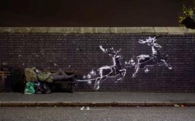Noël vu par l'artiste Banksy