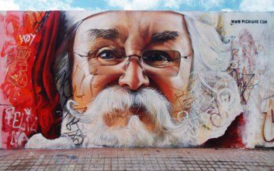 Noël vu par les artistes Pichi & Avo