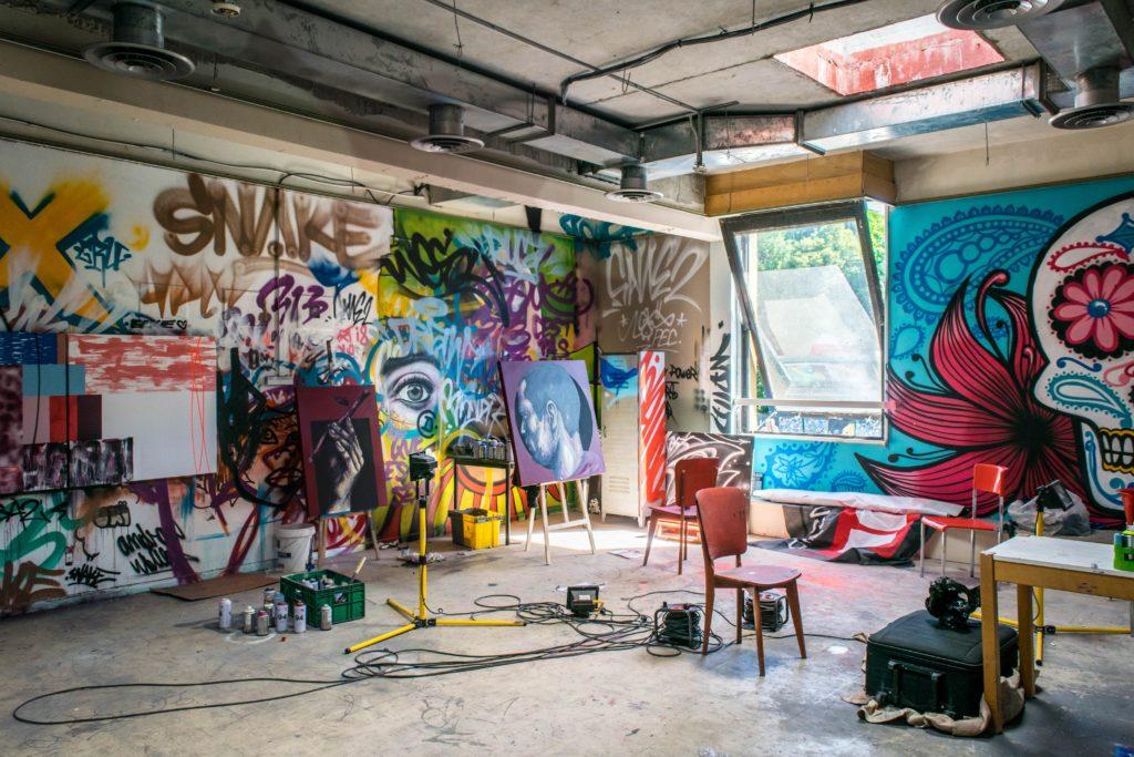 Expositions virtuelles street-art et graffiti