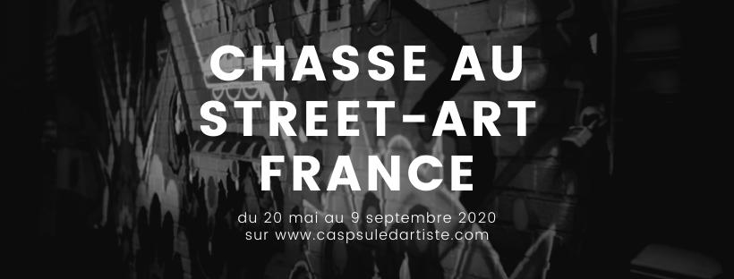 Chasse au street-art France - Capsule d'Artiste